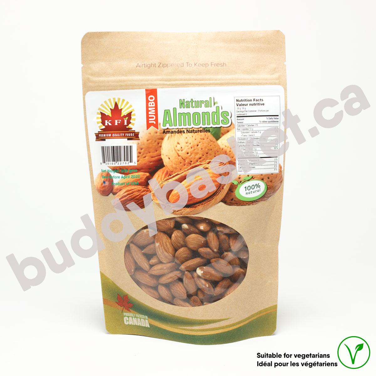 KFI Almond Natural 200g
