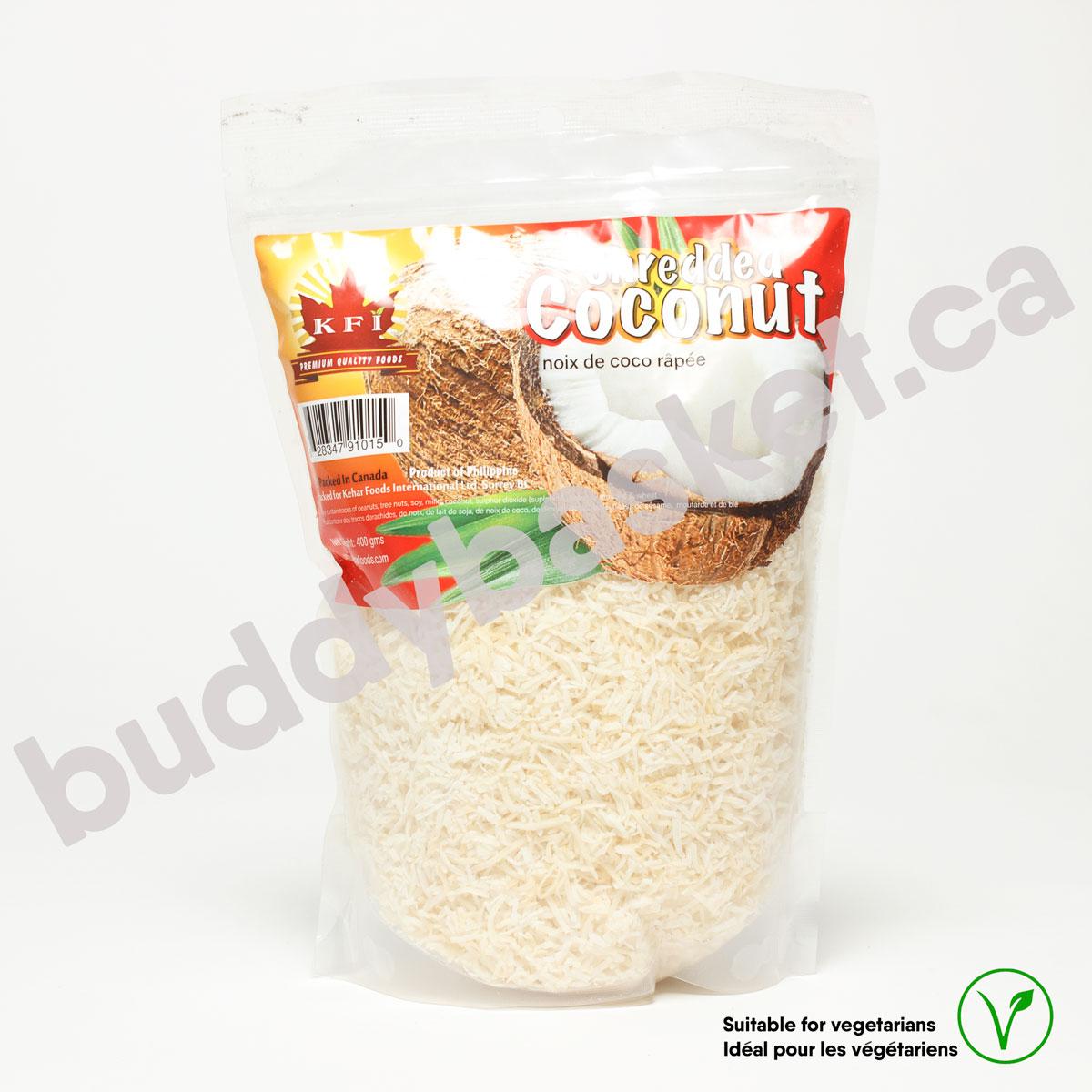 KFI Coconut Shredded 400g