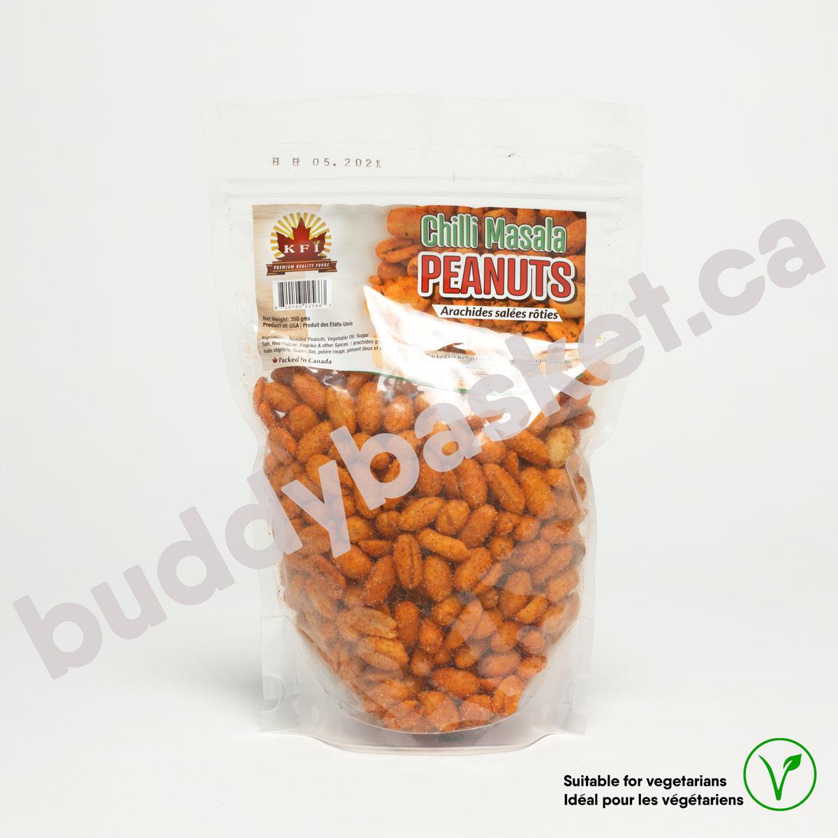 KFI Peanut Roasted Chilli 350g