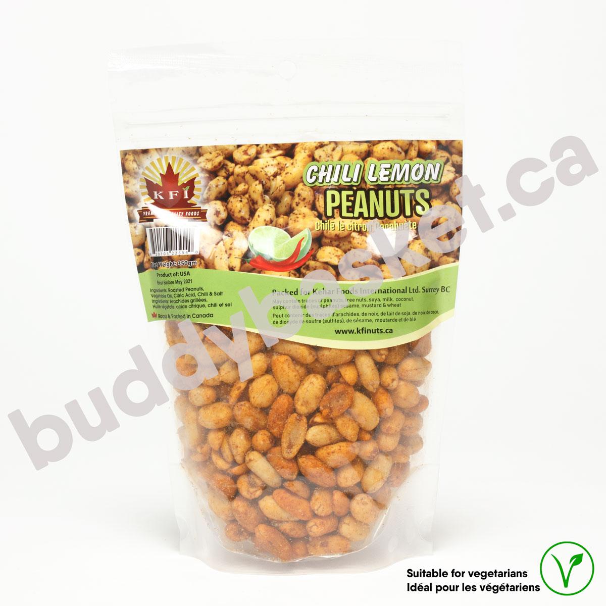 KFI Peanut Roasted Lemon 350g