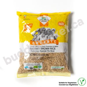 24 Mantra Organic Brown Basmati Rice 1kg