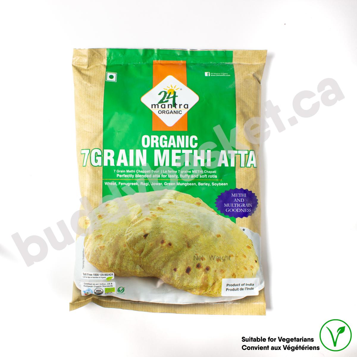 24 Mantra Organic Methi Atta 1kg