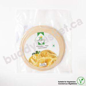 24 Mantra Organic Papad plain 100g