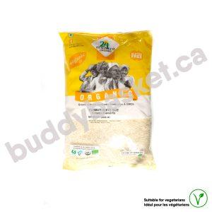 24 Mantra Organic White Basmati Rice 10lb