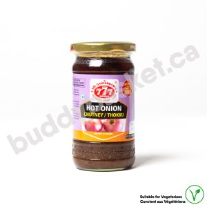 777 Hot Onion Pickle 300g