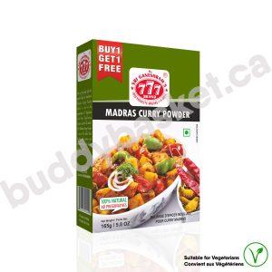 777 Madras Curry Powder 165g