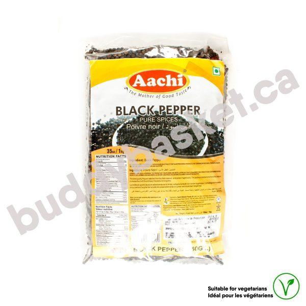 AACHI BLACK PEPPER (500GL) 1kg
