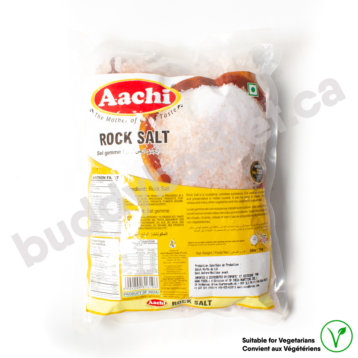 Aachi Coarse Sea Salt 1kg