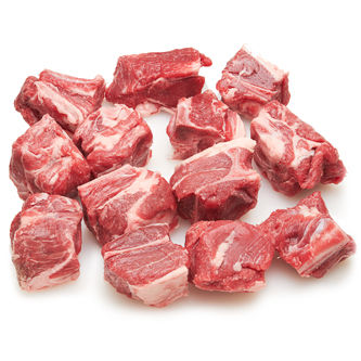 Beef Cubes with Bone 1lb