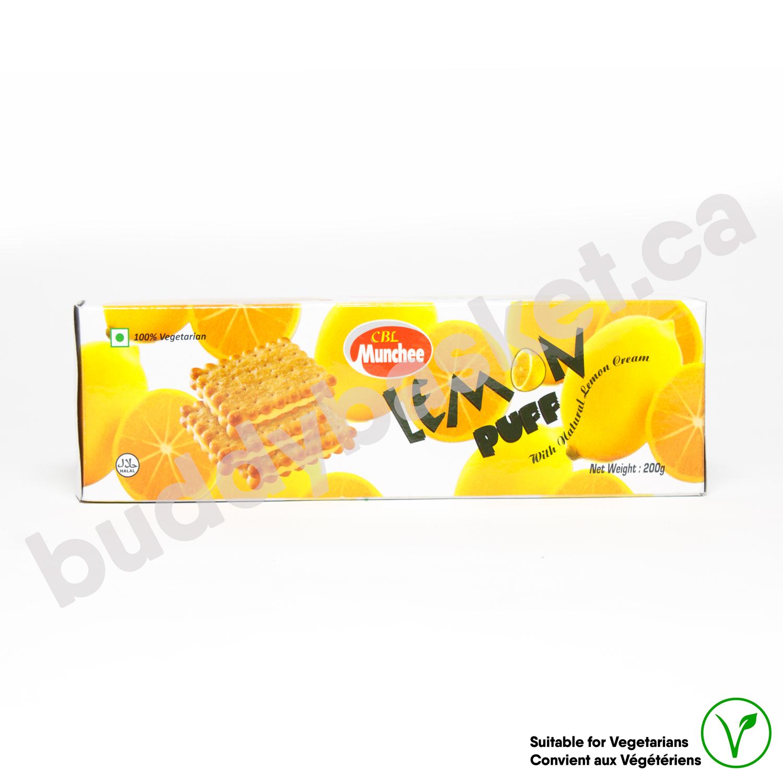 CBL munchee Lemon Puff 200g