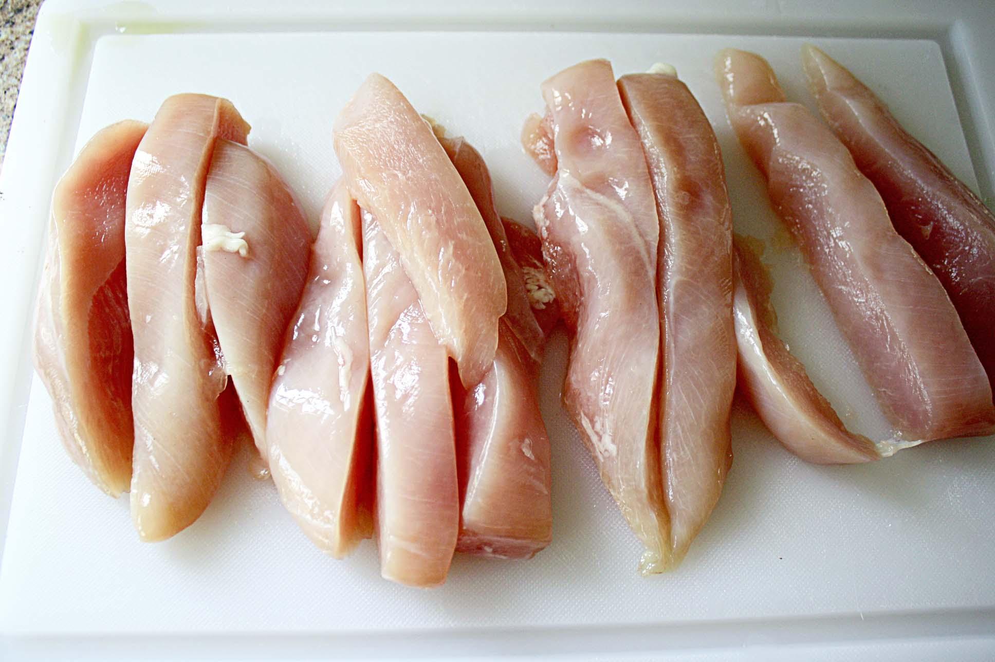 Chicken Breast strip 2lb
