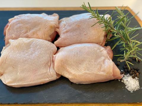 Chicken Thighs Bone in with Skin 1lb