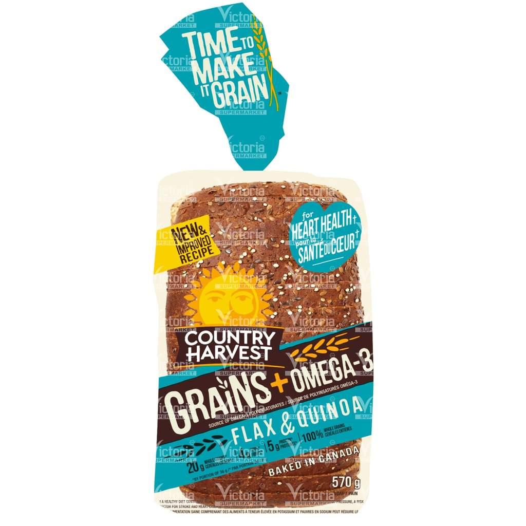 Country Harvest bread Flax quinoa 570g