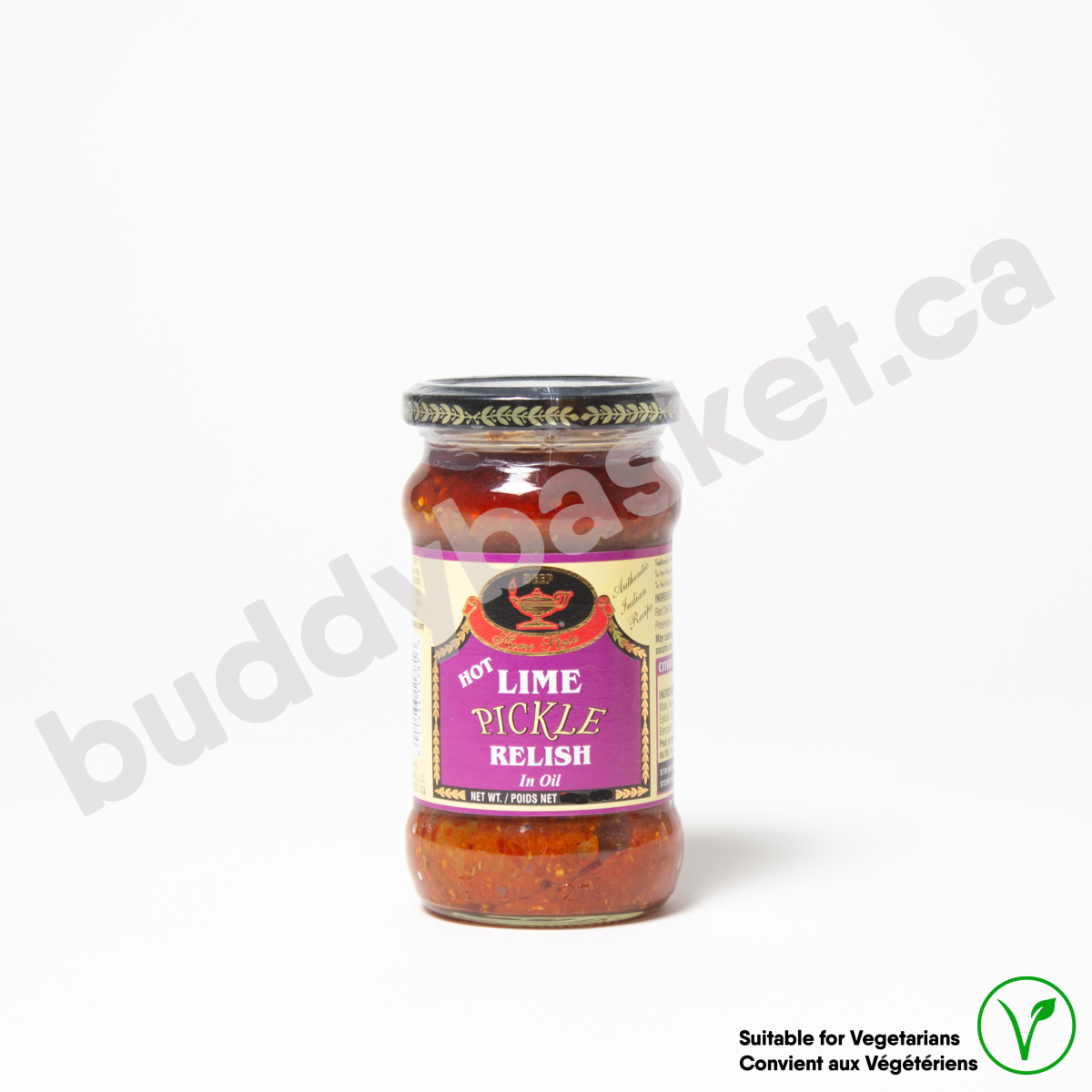Deep Lime pickle hot 283g