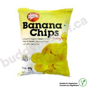 Double Horse Sweet Banana Chips 125g