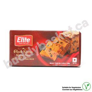 Elite Black Raisin Cake 150g