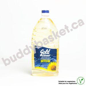 Gold Winner Sunflower Oil 2ltr