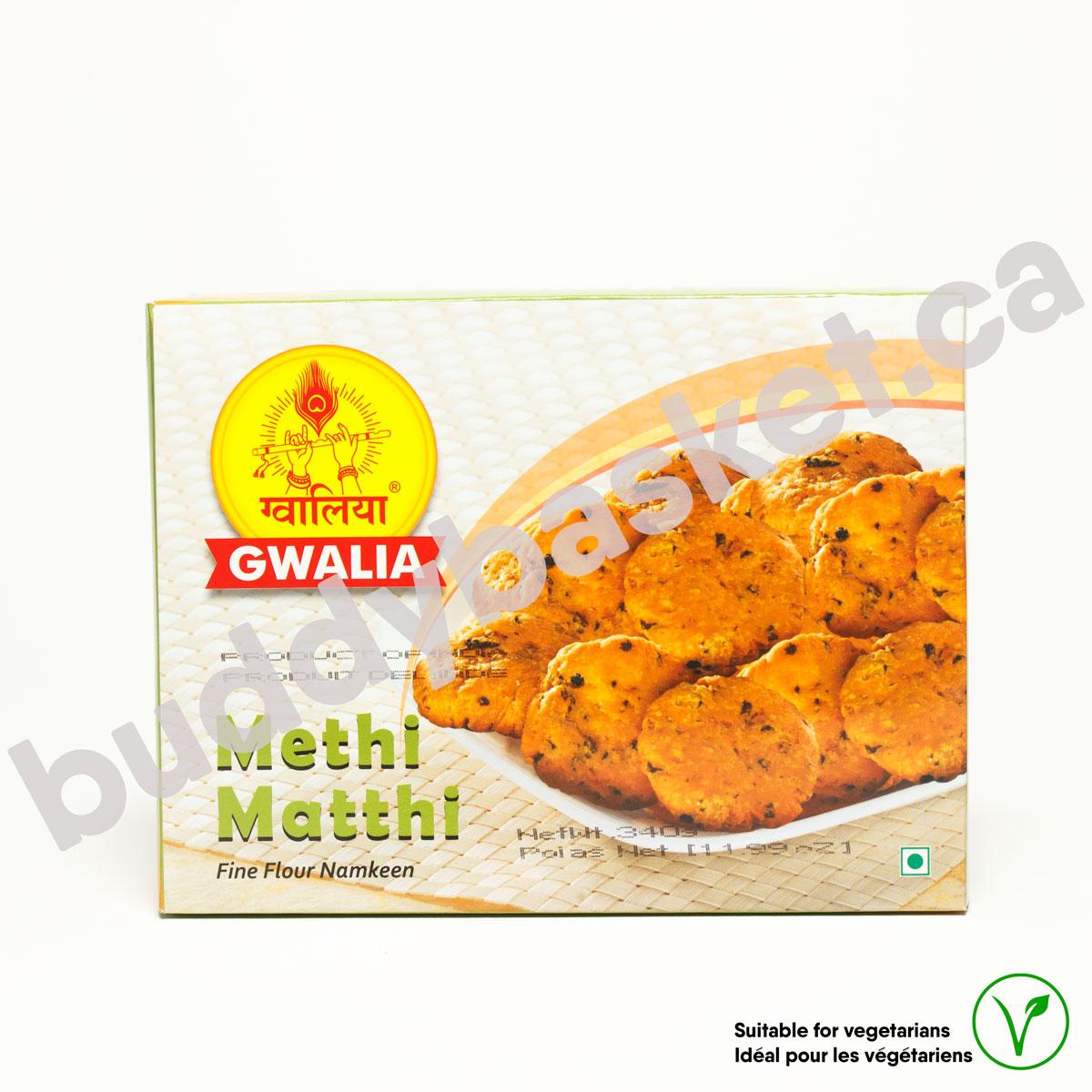 Gwalia Methi Matthi 340g