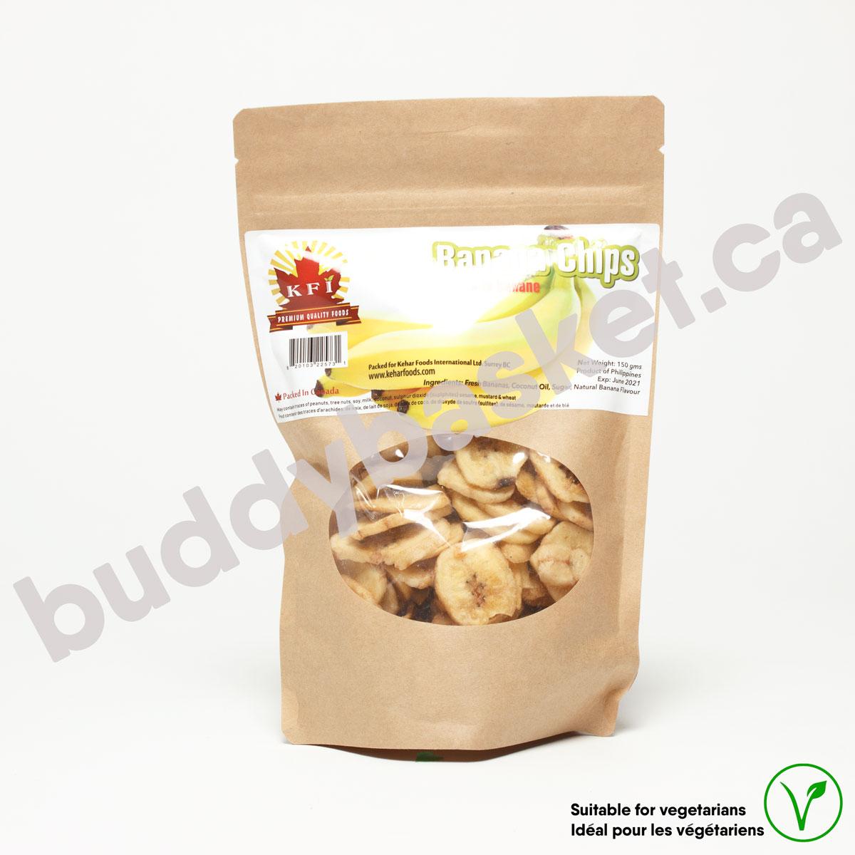 KFI Banana Chip Sweetened 150g
