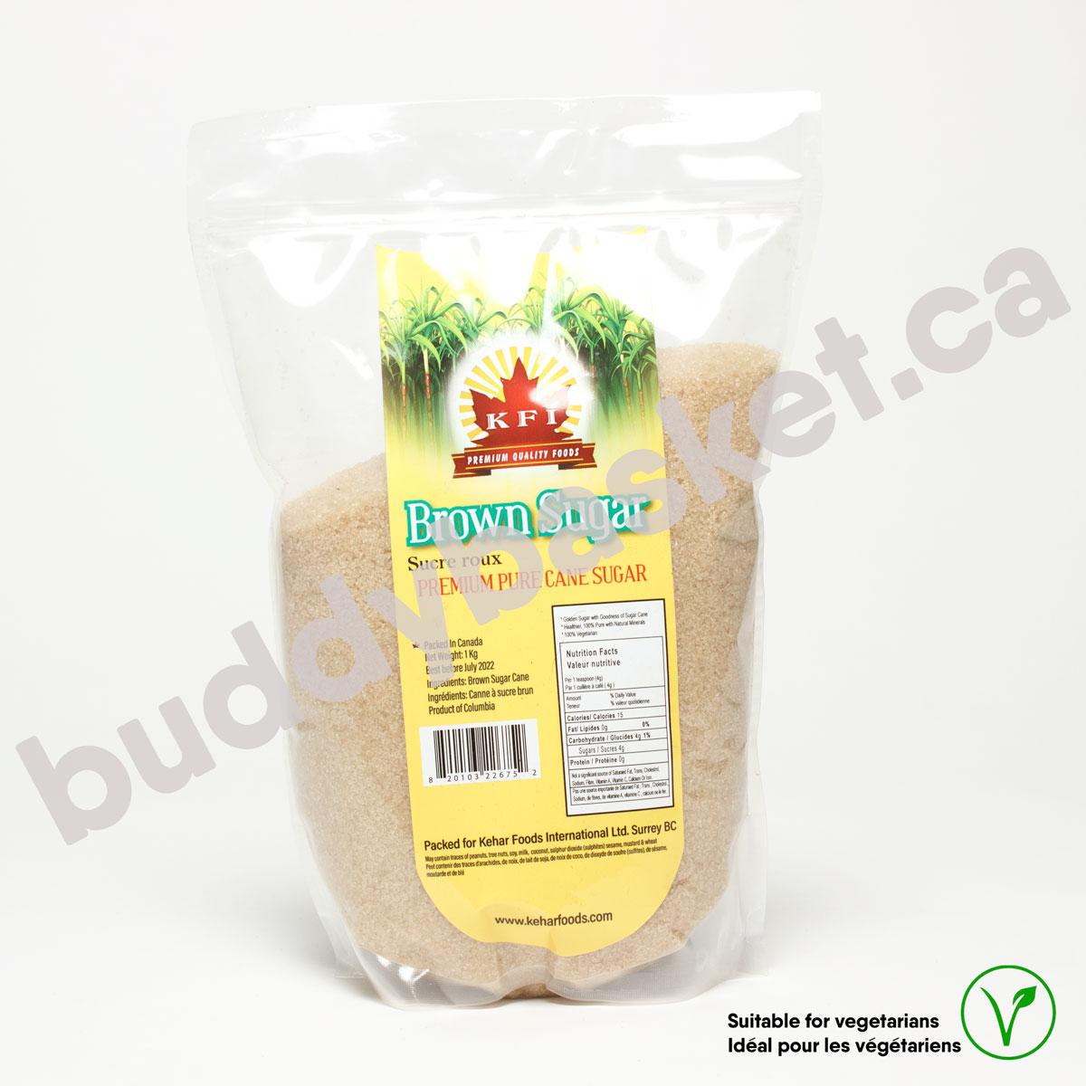 KFI Brown Sugar 1kg