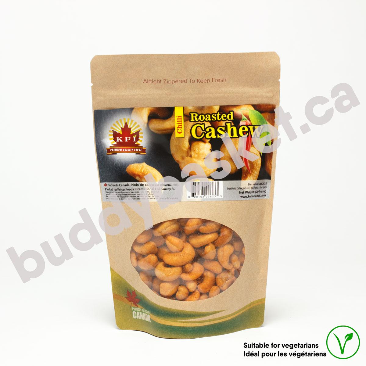 KFI Cashew Roasted Chilli 200g