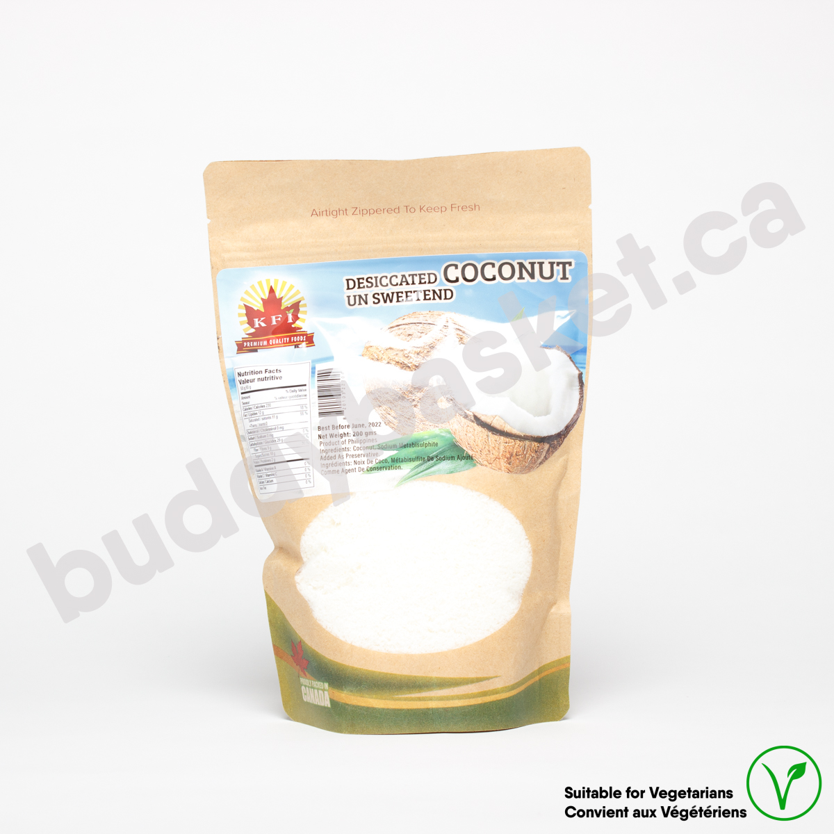 KFI Coconut Dessicated 400g