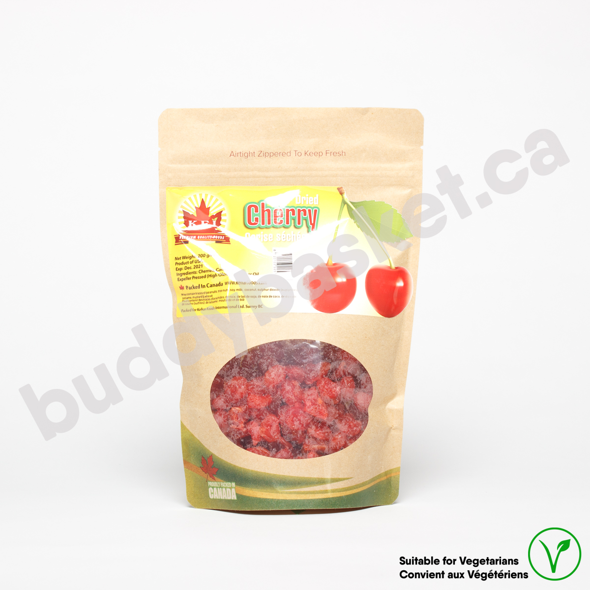 KFI Dry Cherries Red tart 200g