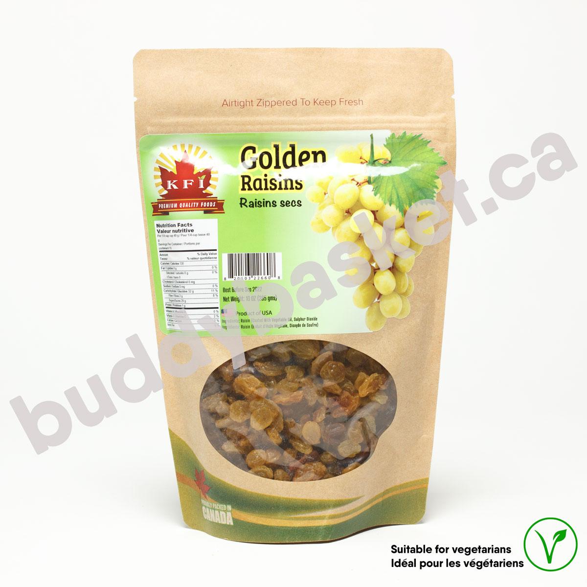 KFI Golden Raisins 285g