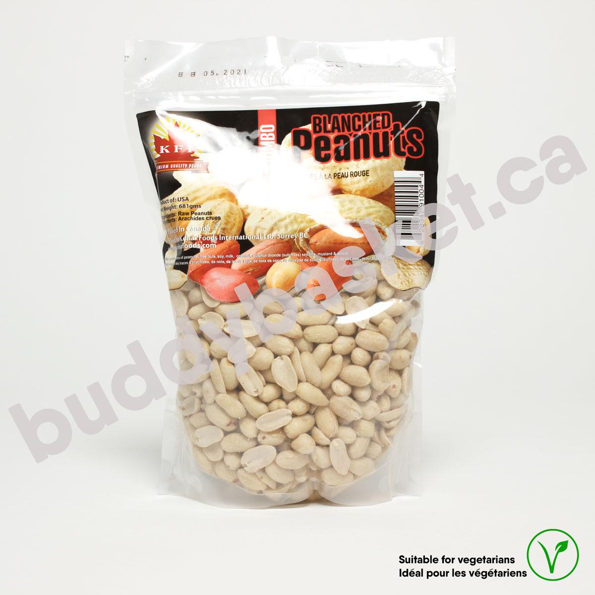 KFI Peanut Blanched Jumbo 681g
