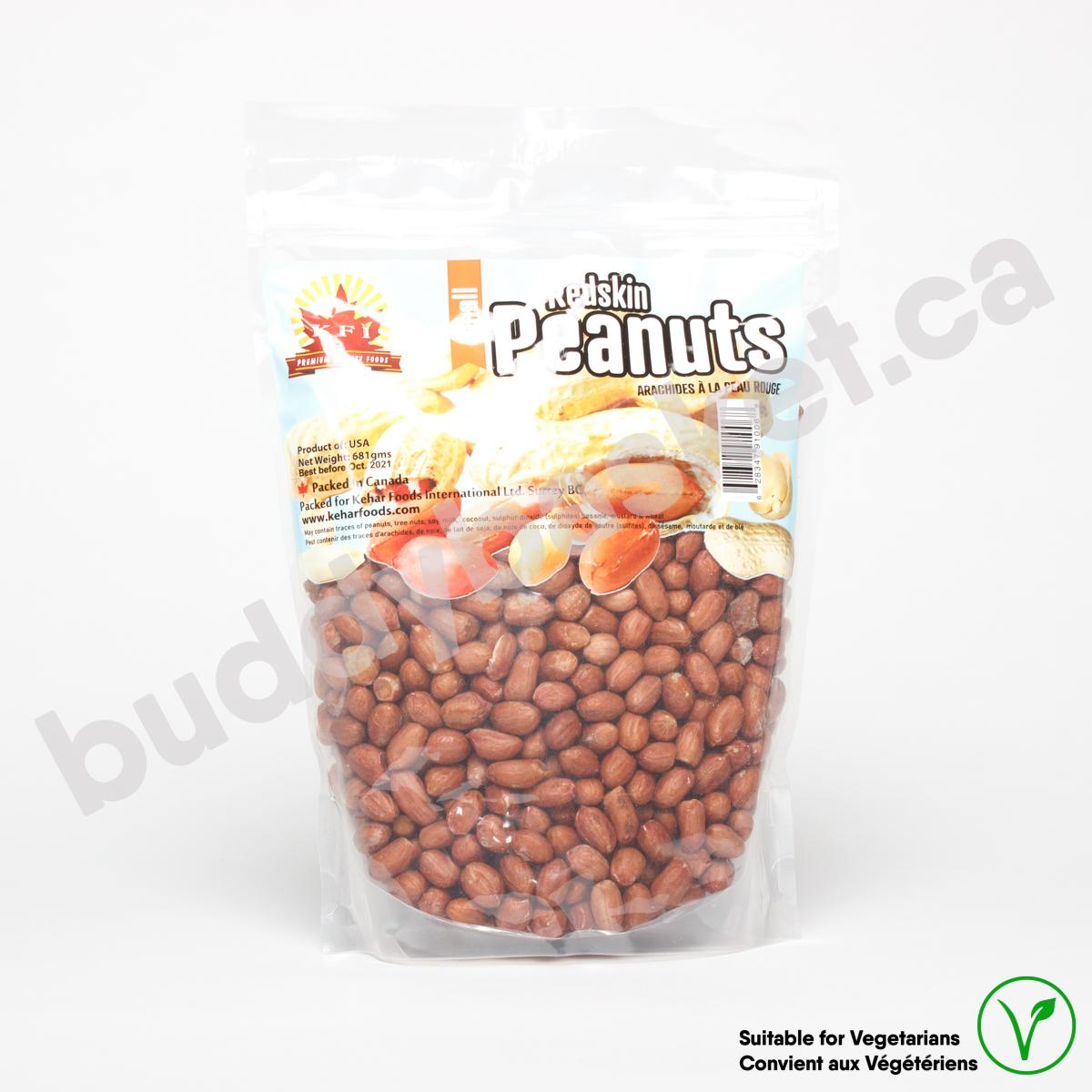 KFI Peanut Red skin Jumbo 681g