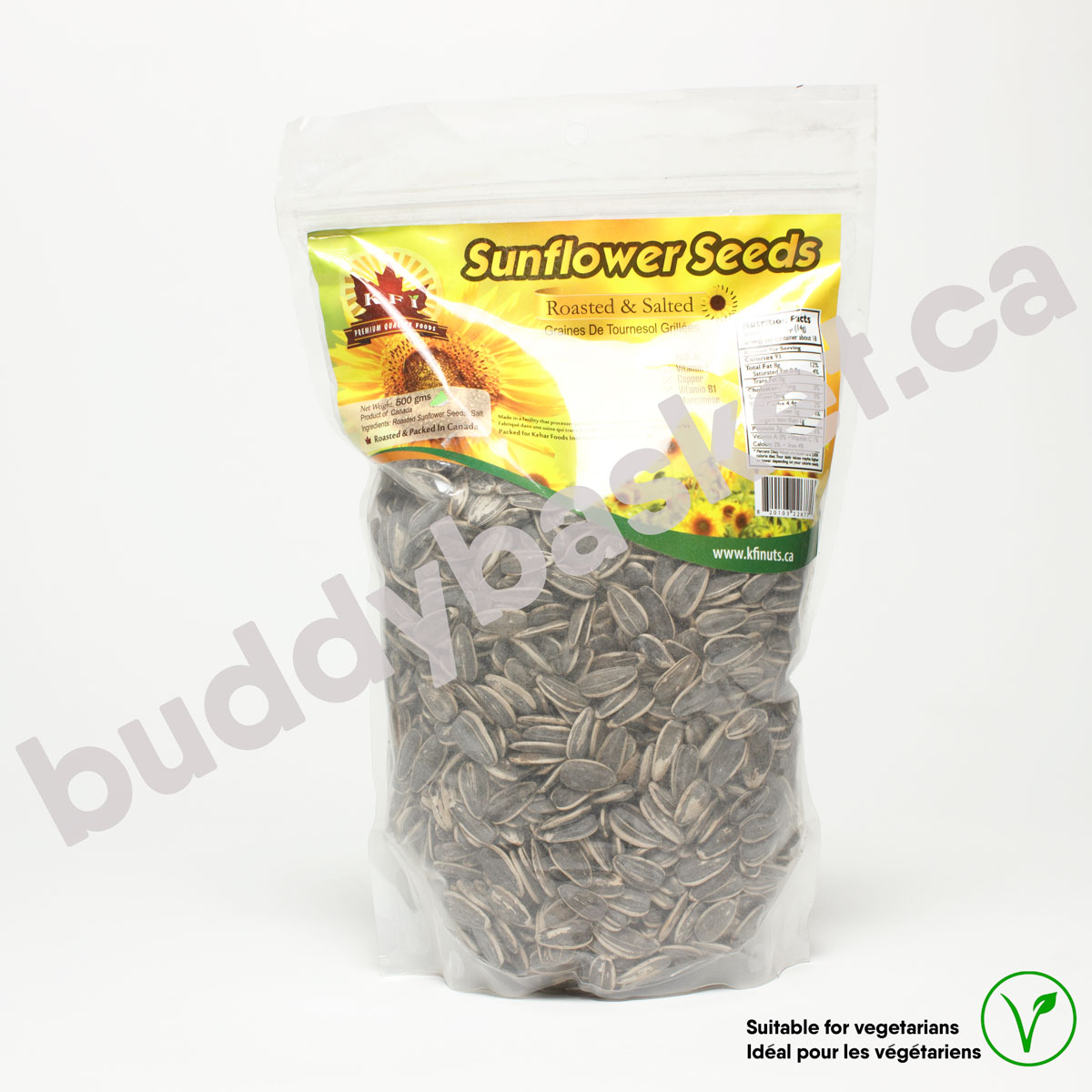 KFI Sunflower Seed HulRaw 300g