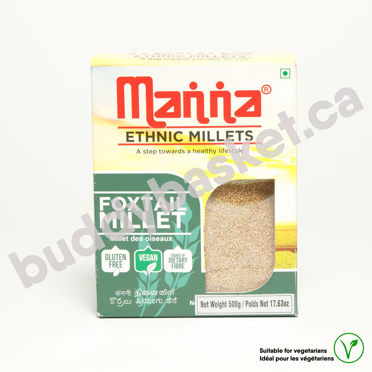 Manna Foxtail Millet (Thinai) 500g