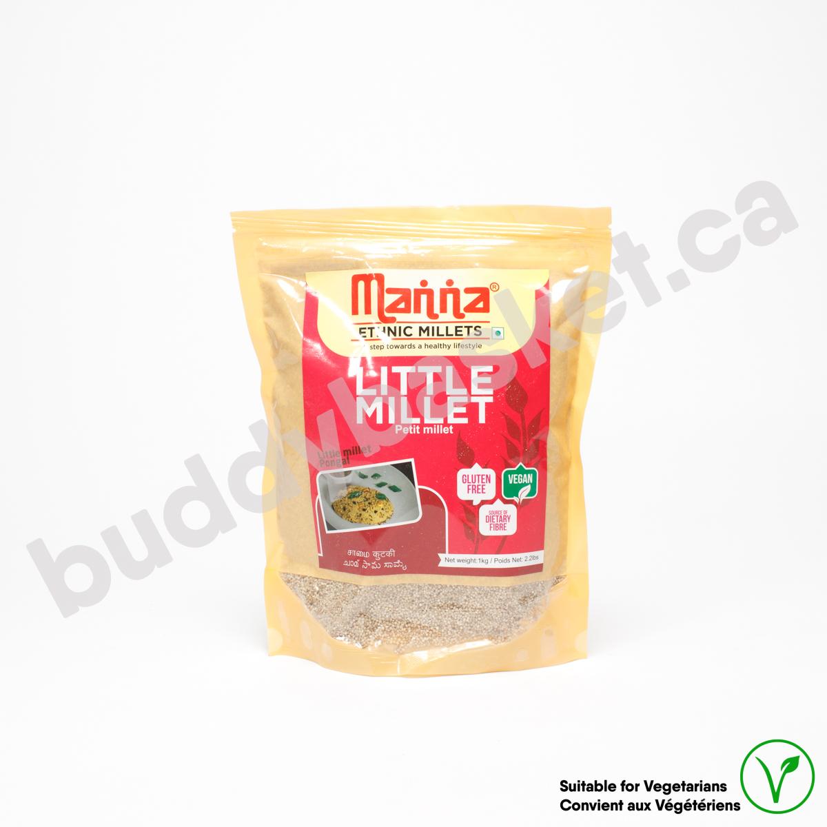 Manna Little Millet (samai) 1kg