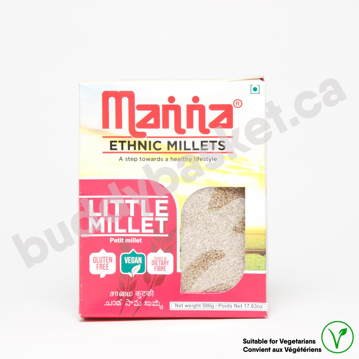 Manna Little Millet (samai) 500g