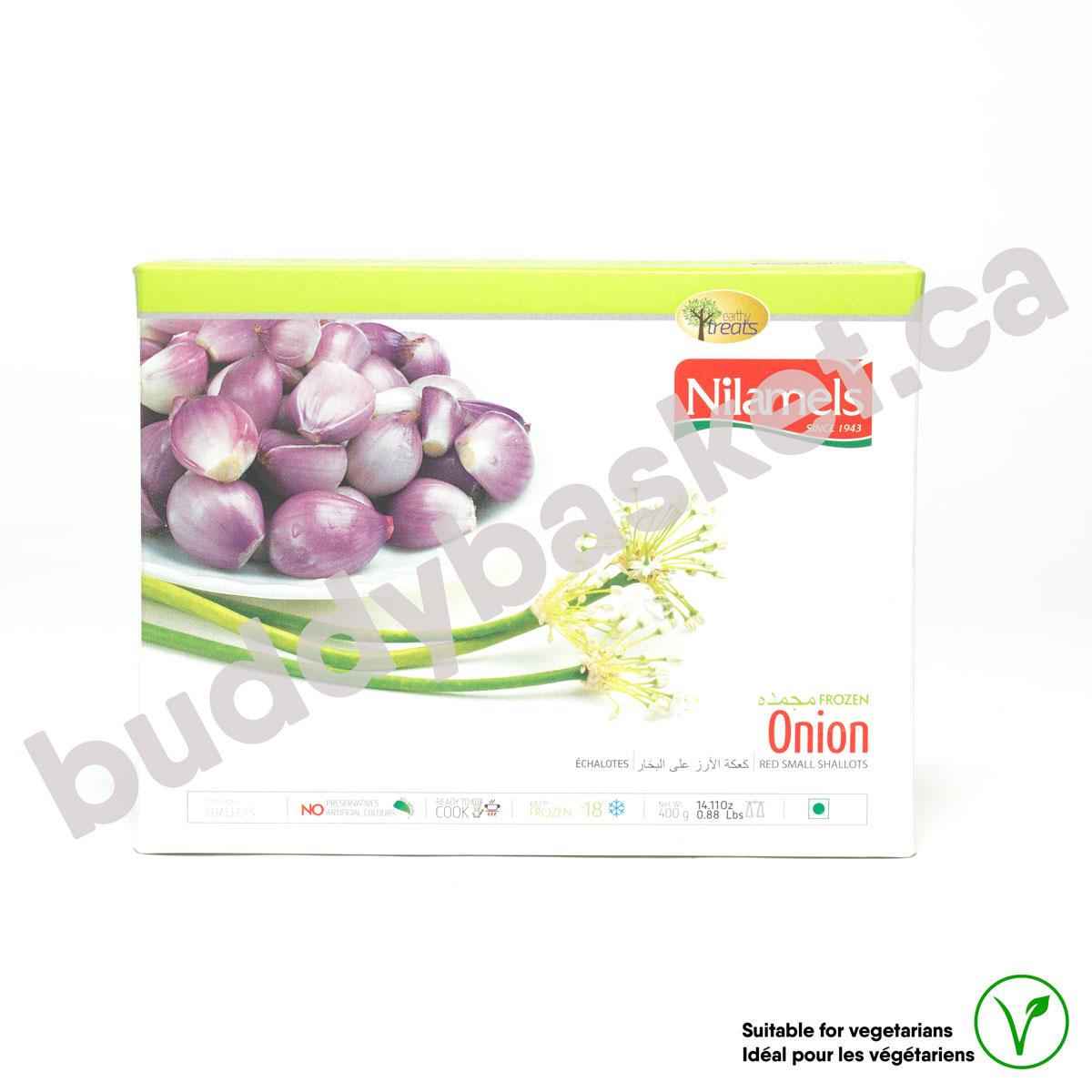 Nilamels Peeled Red Onion 400g