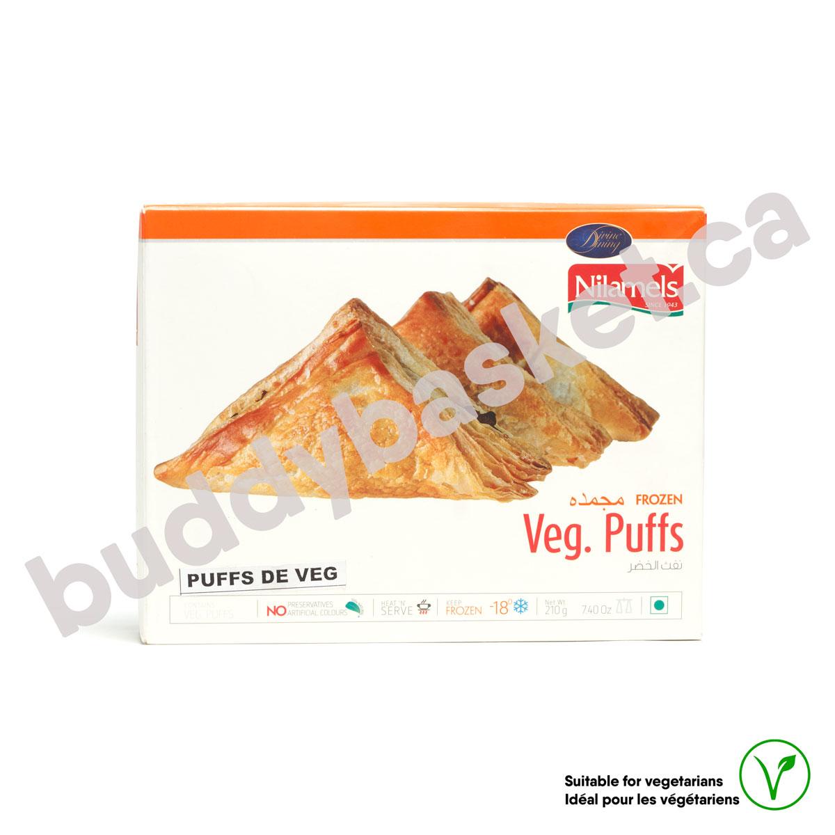 Nilamels Vegetable Puffs 210g