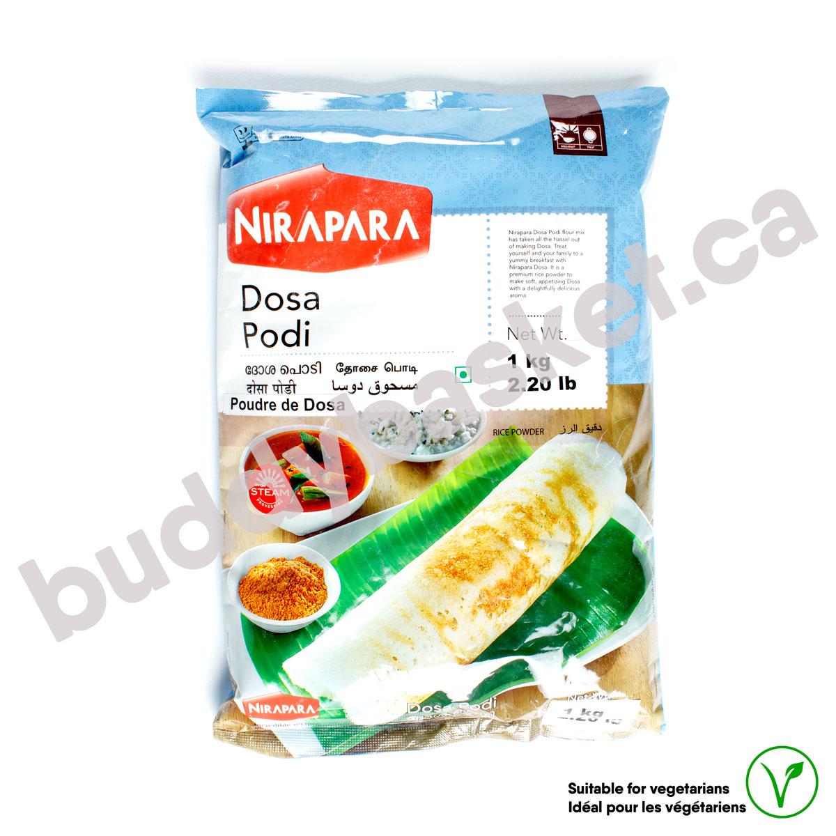 Nirapara Dosa Podi 1kg
