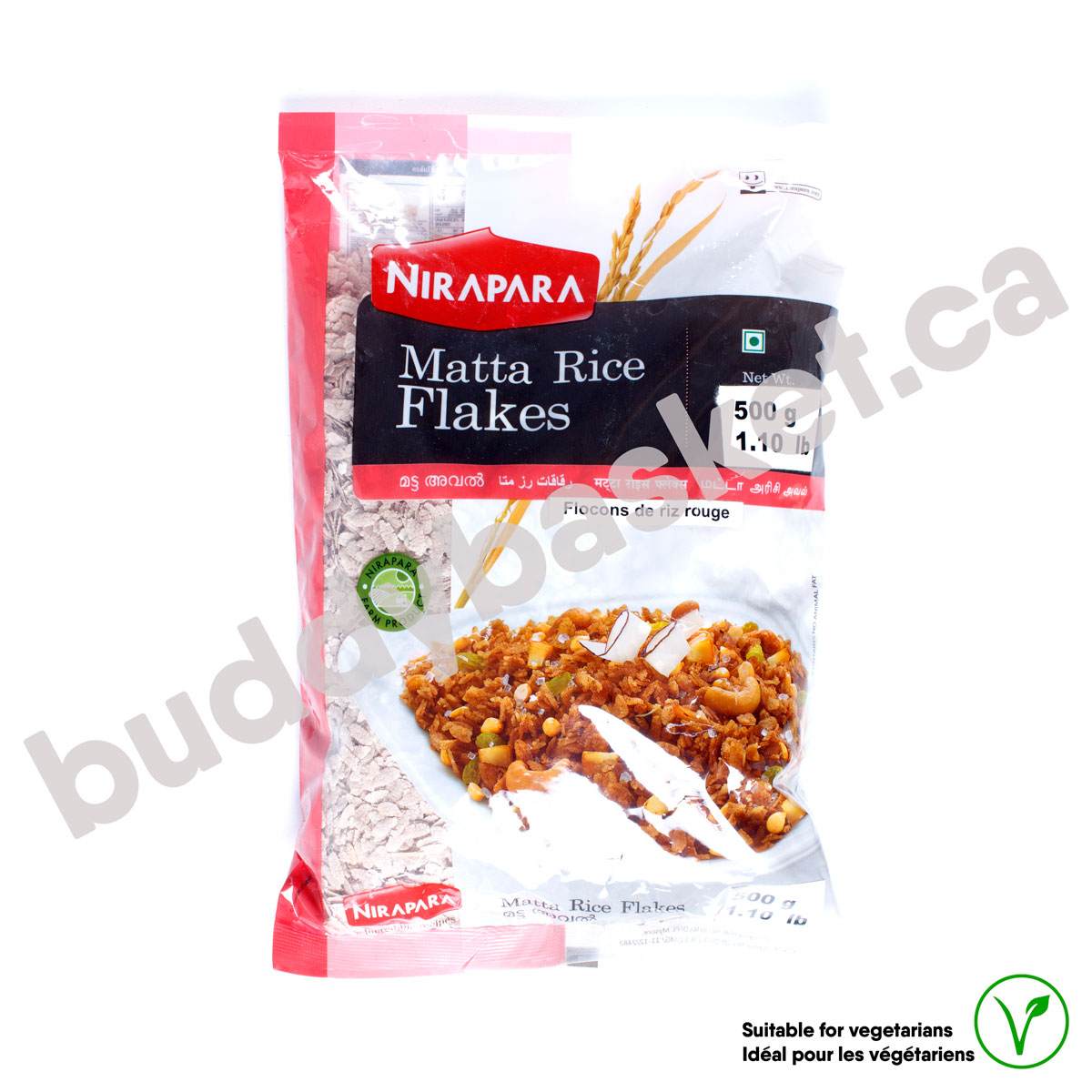 Nirapara Rice Flakes Red 500g
