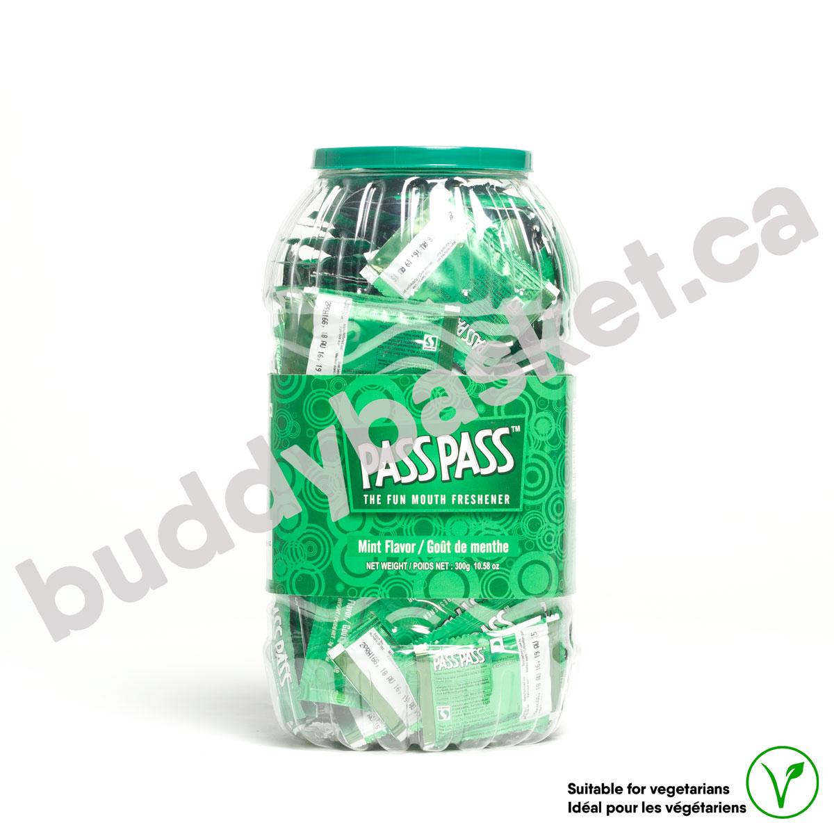 Pass Pass Mint Flavour Jar 270g