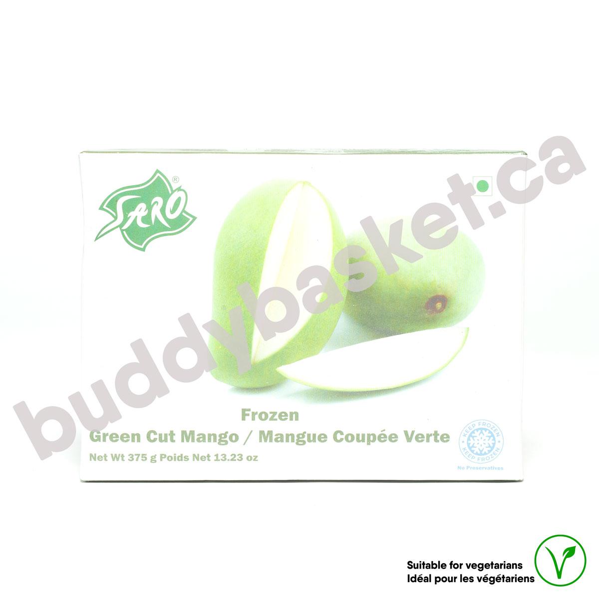 Saro Blanch Green Mango(Cut) 400g
