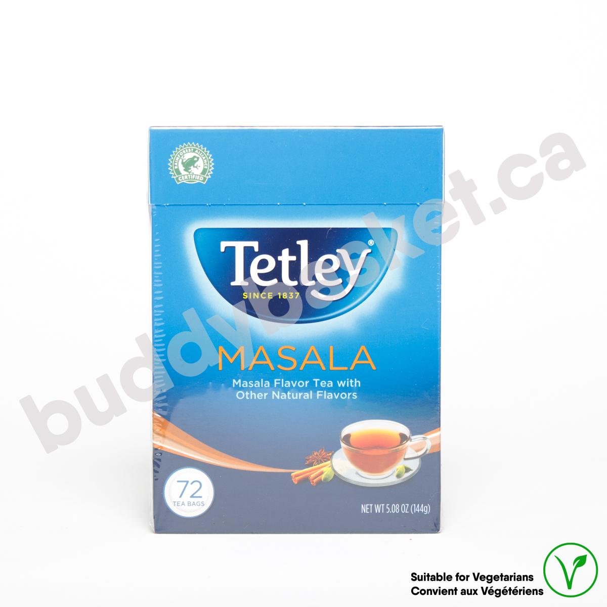 Tetley Masala 72 tea Bags 144g