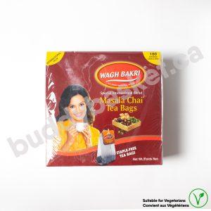 Wagh Bakhri Masala chai tea bags (100)