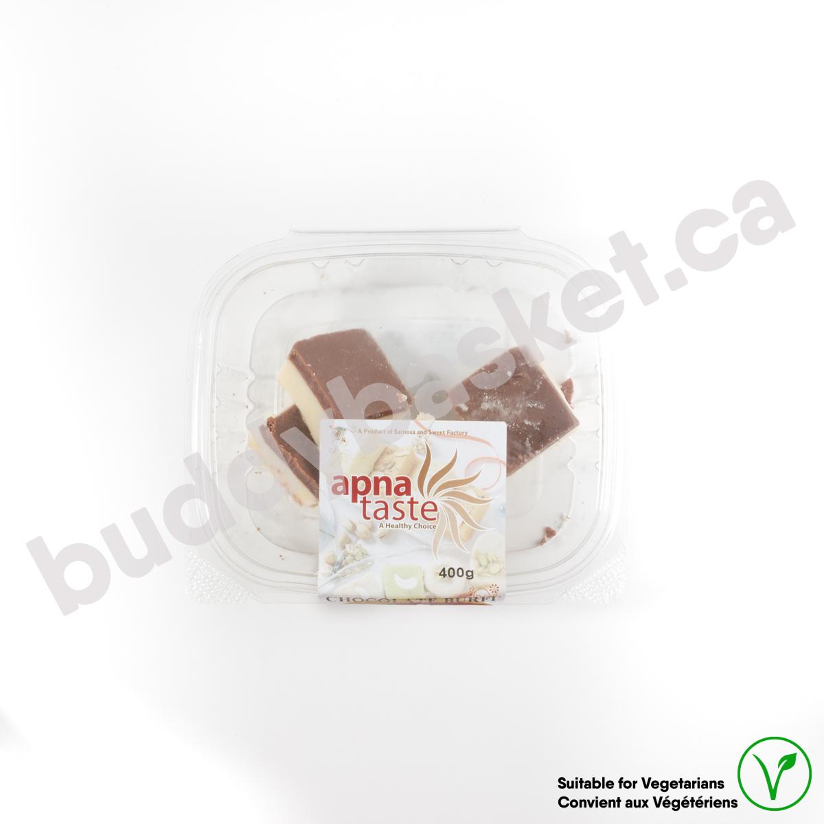 Apna Taste Chocolate Burfi 400g
