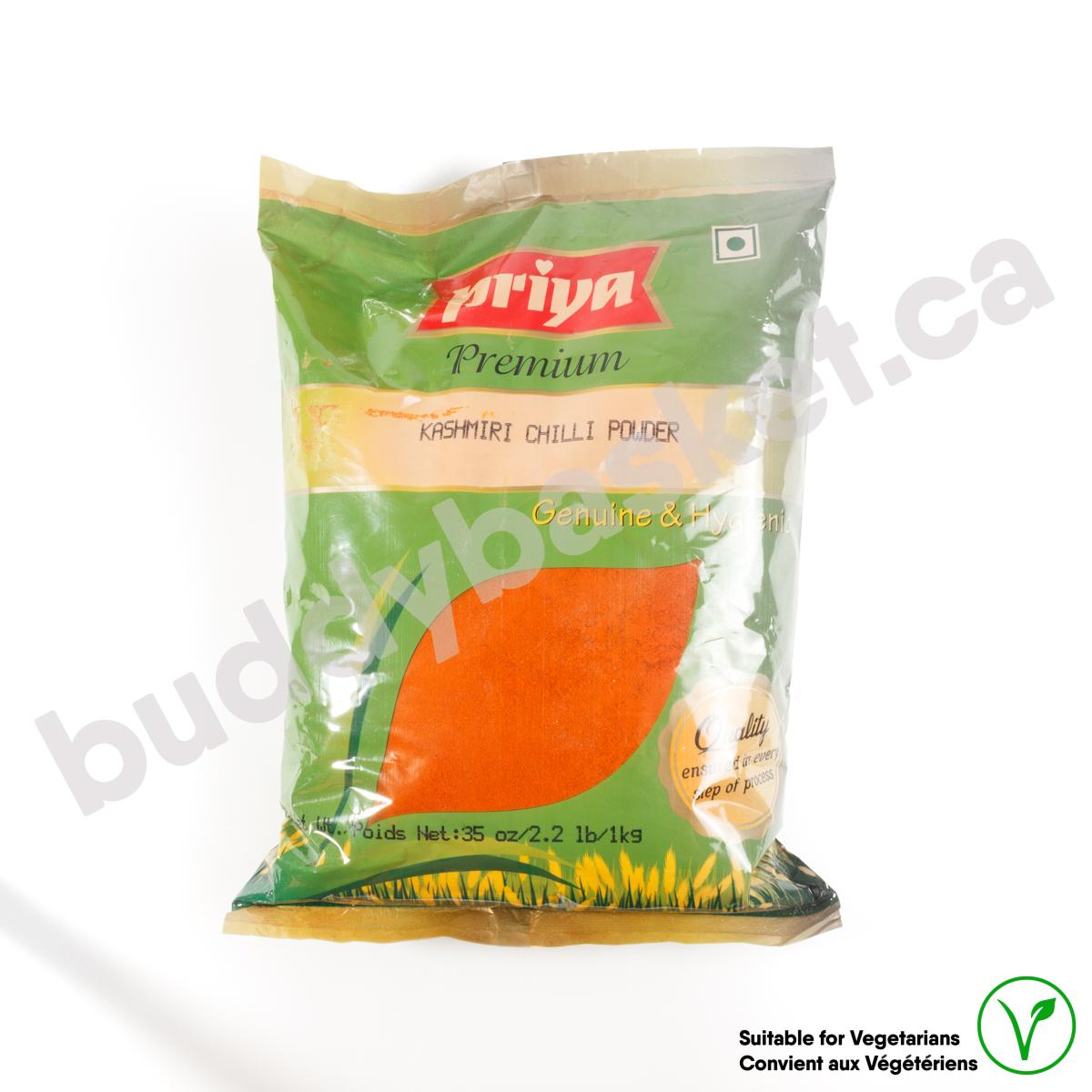 Priya Kashmiri Chilli Pwder 1kg