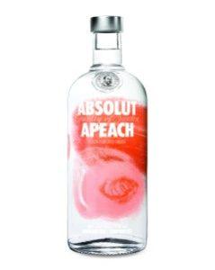 Absolut Apeach Vodka 750ml