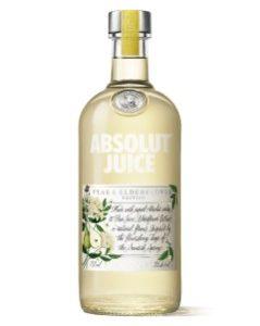 Absolut Juice Pear And Elderflower 750ml
