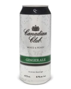 Canadian Club & Ginger Ale 473ml