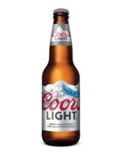 Coors Light 341ml