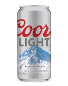 Coors Light 355ml