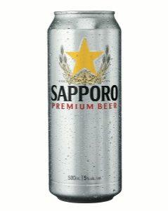 Sapporo Premium Beer 500ml